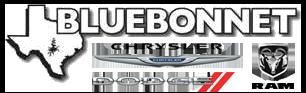 Bluebonnet Chrysler Dodge RAM logo
