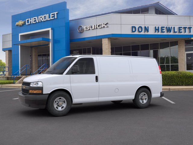 2020 Chevrolet Express 2500 4x2, Sortimo Upfitted Cargo Van #202345 - photo 4