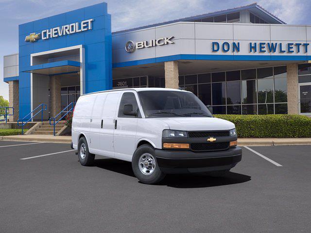 2021 Chevrolet Express 2500 4x2, Knapheide Empty Cargo Van #210617 - photo 1