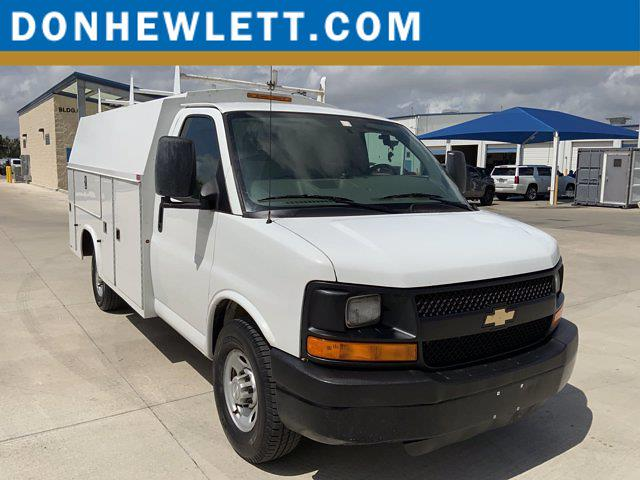 2014 Chevrolet Express 3500 4x2, Cutaway #211108AA - photo 1