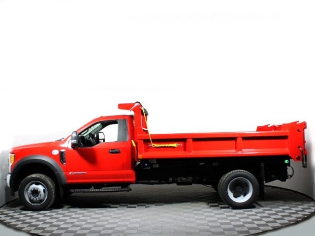 2017 F-550 Regular Cab DRW 4x4, Air-Flo Pro-Class Dump Body #171881TZ - photo 5