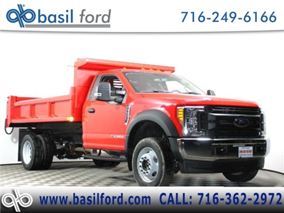 2017 F-550 Regular Cab DRW 4x4, Air-Flo Pro-Class Dump Body #171881TZ - photo 1