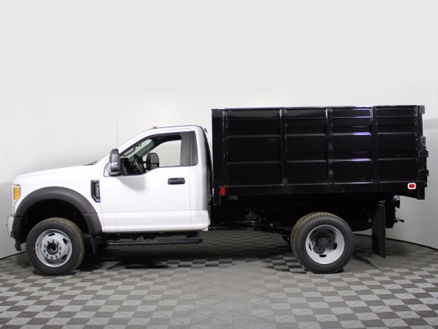 2017 F-550 Regular Cab DRW 4x4,  Knapheide Landscaper Bodies Landscape Dump #172096TZ - photo 9