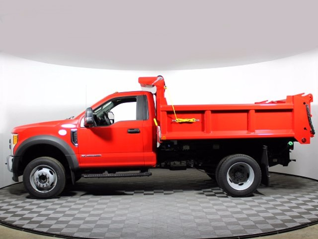 2017 F-550 Regular Cab DRW 4x4, Air-Flo Pro-Class Dump Body #172530TZ - photo 5