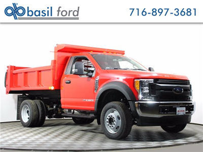 2017 F-550 Regular Cab DRW 4x4, Air-Flo Pro-Class Dump Body #172530TZ - photo 1