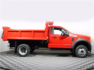 2017 F-550 Regular Cab DRW 4x4, Air-Flo Pro-Class Dump Body #172530TZ - photo 8