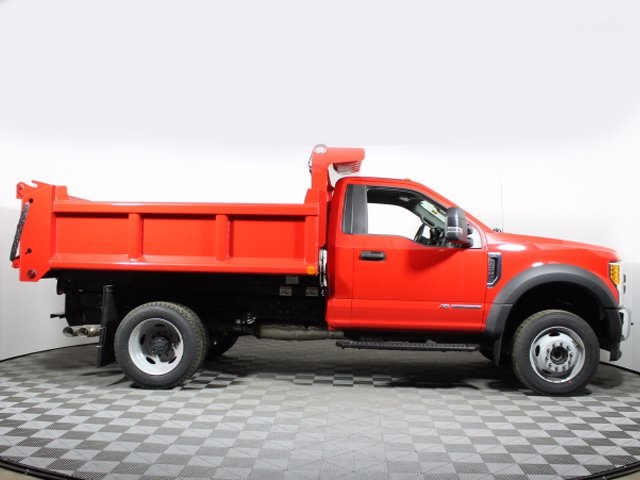 2017 F-550 Regular Cab DRW 4x4,  Air-Flo Dump Body #172531TZ - photo 8