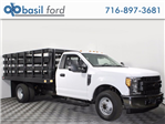 2017 F-350 Regular Cab DRW 4x2,  Knapheide Stake Bed #172549TZ - photo 1