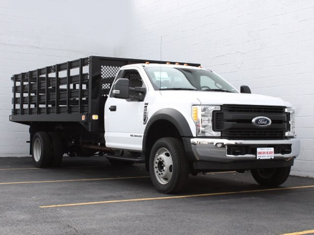 2017 F-550 Regular Cab DRW, Knapheide Stake Bed #172568TZ - photo 3