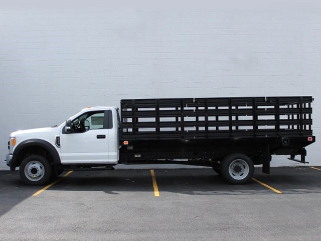 2017 F-550 Regular Cab DRW, Knapheide Stake Bed #172568TZ - photo 6