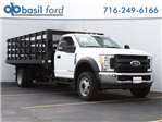 2017 F-550 Regular Cab DRW, Knapheide Stake Bed #172568TZ - photo 1