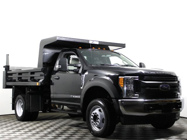 2017 F-550 Regular Cab DRW 4x4, Rugby Z-Spec Dump Body #172572TZ - photo 3