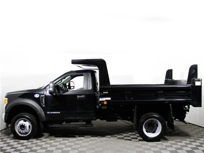 2017 F-550 Regular Cab DRW 4x4, Rugby Z-Spec Dump Body #172572TZ - photo 6