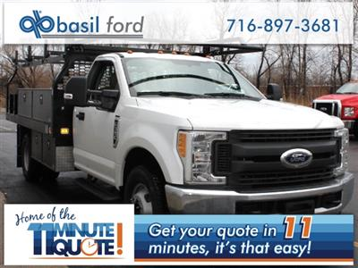 2017 F-350 Regular Cab DRW 4x2,  Knapheide Contractor Body #172613TZ - photo 1