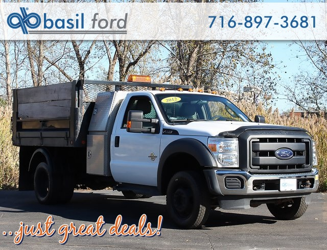 2012 F-550 Regular Cab DRW 4x4,  Landscape Dump #181052TZA - photo 1