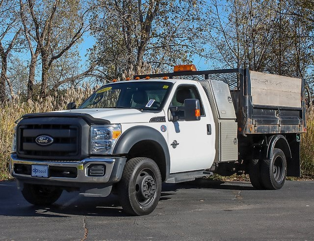 2012 F-550 Regular Cab DRW 4x4,  Landscape Dump #181052TZA - photo 4
