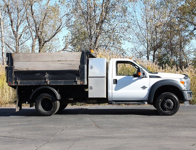 2012 F-550 Regular Cab DRW 4x4,  Landscape Dump #181052TZA - photo 7