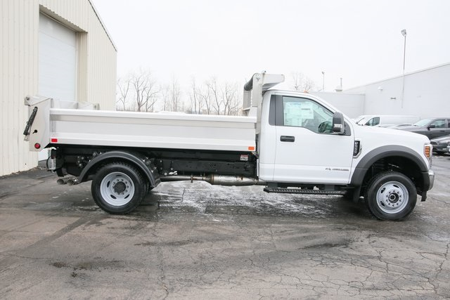 2019 F-550 Regular Cab DRW 4x4,  Air-Flo Pro-Class Dump Body #190131TZ - photo 2