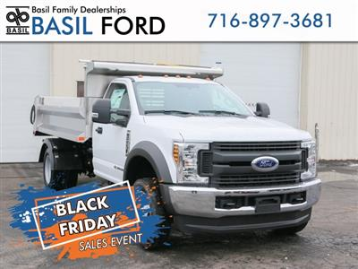 2019 F-550 Regular Cab DRW 4x4,  Air-Flo Pro-Class Dump Body #190131TZ - photo 1