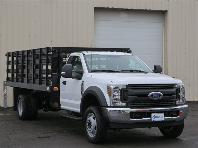 2019 F-550 Regular Cab DRW 4x2,  Knapheide Value-Master X Stake Bed #190142TZ - photo 1