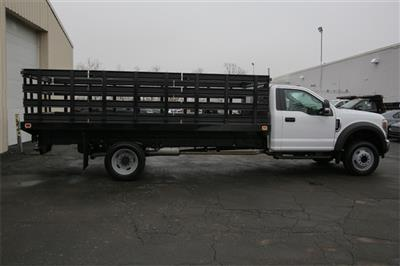 2019 F-550 Regular Cab DRW 4x2,  Knapheide Value-Master X Stake Bed #190142TZ - photo 3