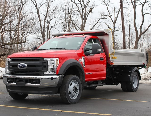2019 F-550 Regular Cab DRW 4x4,  Air-Flo Pro-Com Dump Body #190146TZ - photo 5