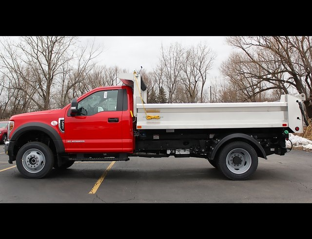2019 F-550 Regular Cab DRW 4x4,  Air-Flo Pro-Com Dump Body #190146TZ - photo 6