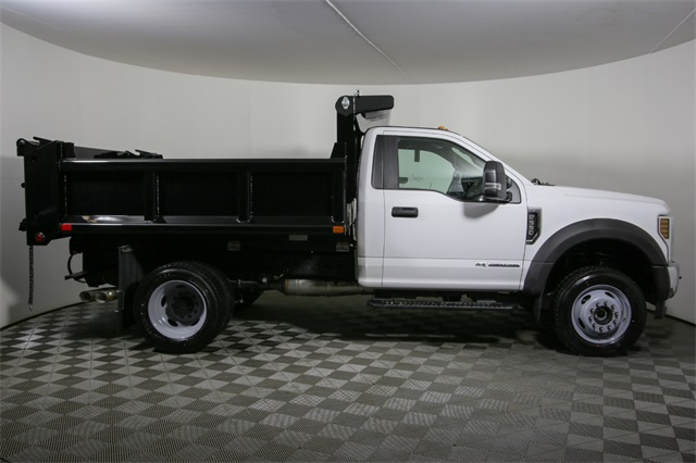 2019 F-550 Regular Cab DRW 4x4,  Air-Flo Dump Body #190151TZ - photo 4