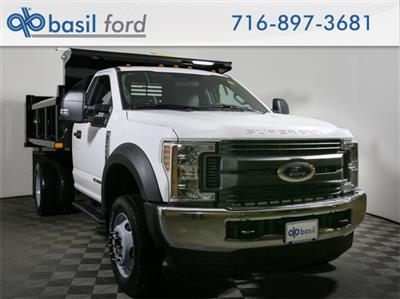 2019 F-550 Regular Cab DRW 4x4,  Air-Flo Pro-Class Dump Body #190151TZ - photo 1