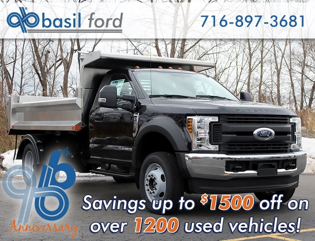 2019 F-550 Regular Cab DRW 4x4,  Air-Flo Dump Body #190152TZ - photo 1