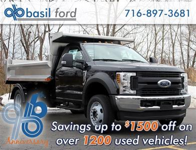 2019 F-550 Regular Cab DRW 4x4,  Air-Flo Pro-Class Dump Body #190152TZ - photo 1