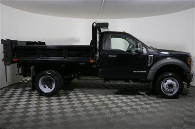 2019 F-550 Regular Cab DRW 4x4,  Air-Flo Pro-Class Dump Body #190195TZ - photo 4