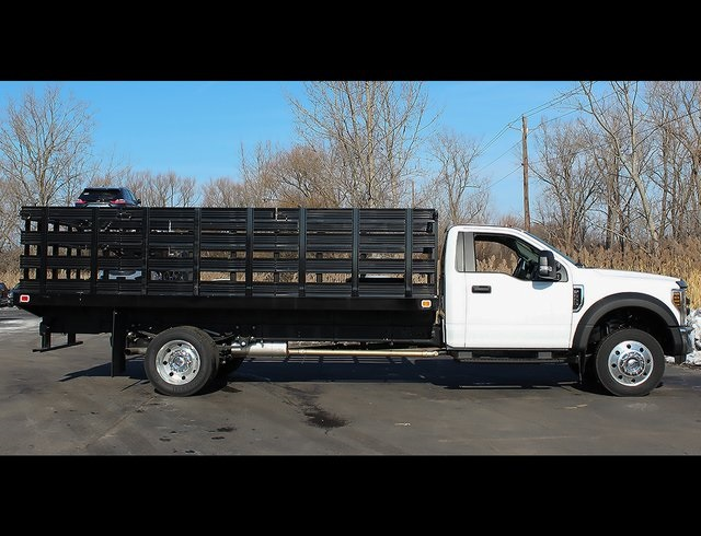 2019 F-550 Regular Cab DRW 4x2,  Knapheide Stake Bed #190278TZ - photo 11