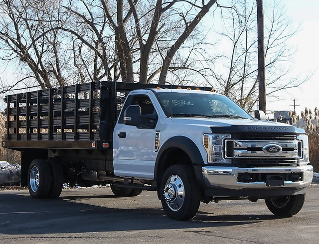 2019 F-550 Regular Cab DRW 4x2,  Knapheide Stake Bed #190278TZ - photo 3