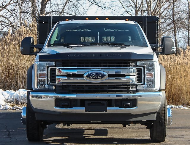 2019 F-550 Regular Cab DRW 4x2,  Knapheide Stake Bed #190278TZ - photo 4
