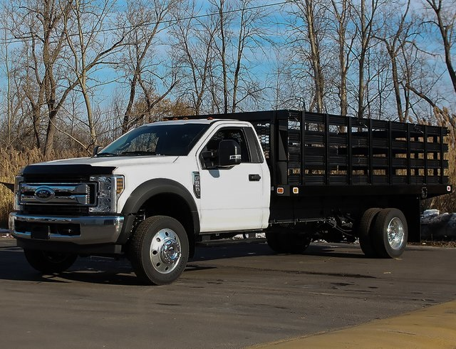2019 F-550 Regular Cab DRW 4x2,  Knapheide Stake Bed #190278TZ - photo 5