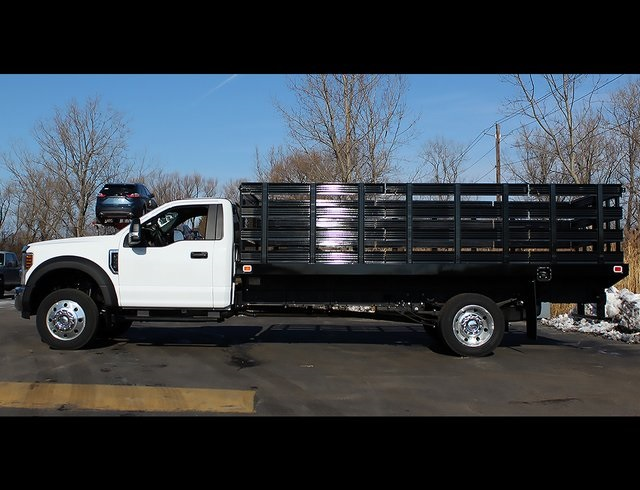 2019 F-550 Regular Cab DRW 4x2,  Knapheide Stake Bed #190278TZ - photo 6