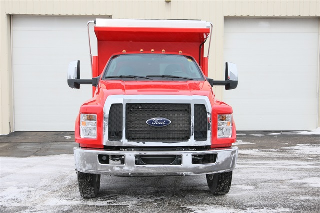 2019 F-650 Regular Cab DRW 4x2,  Rugby Dump Body #190355TZ - photo 3