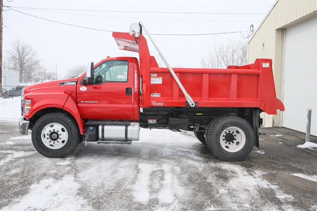 2019 F-650 Regular Cab DRW 4x2,  Rugby Dump Body #190355TZ - photo 5