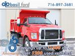 2019 F-650 Regular Cab DRW 4x2,  Rugby Dump Body #190355TZ - photo 1