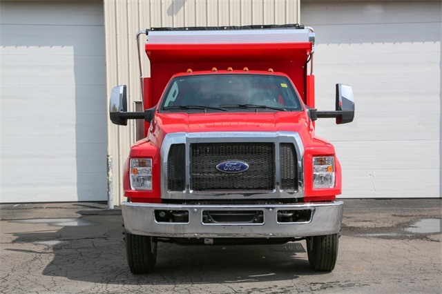 2019 F-650 Regular Cab DRW 4x2,  Rugby Titan Dump Body #190357TZ - photo 3