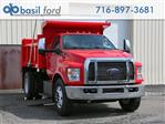 2019 F-650 Regular Cab DRW 4x2,  Rugby Titan Dump Body #190357TZ - photo 1