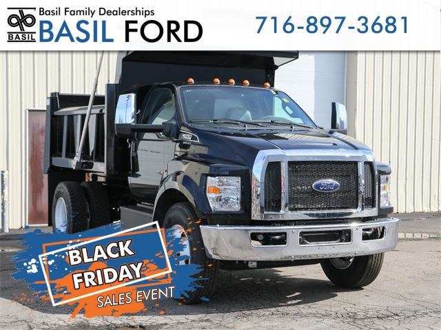 2019 F-650 Regular Cab DRW 4x2,  Rugby Dump Body #190386TZ - photo 1