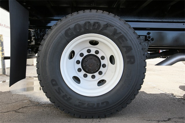 2019 F-650 Regular Cab DRW 4x2,  Rugby Titan Dump Body #190386TZ - photo 7