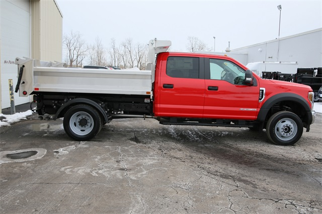 2019 F-550 Crew Cab DRW 4x4,  Air-Flo Dump Body #190469TZ - photo 2