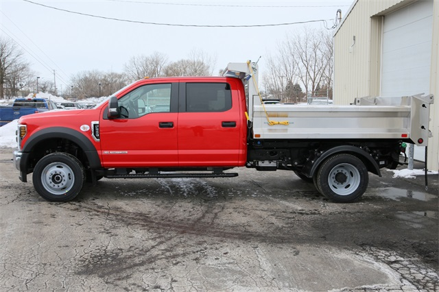 2019 F-550 Crew Cab DRW 4x4,  Air-Flo Pro-Class Dump Body #190469TZ - photo 5