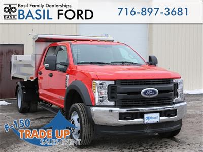2019 F-550 Crew Cab DRW 4x4,  Air-Flo Pro-Class Dump Body #190469TZ - photo 1