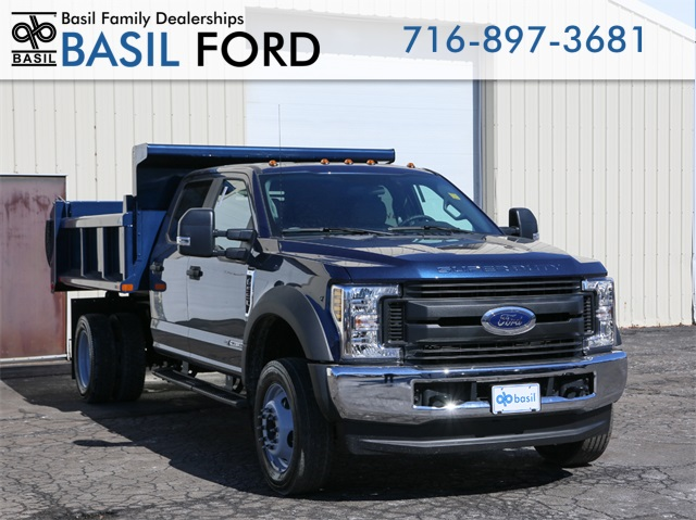 2019 F-550 Crew Cab DRW 4x4,  Air-Flo Dump Body #190514TZ - photo 3