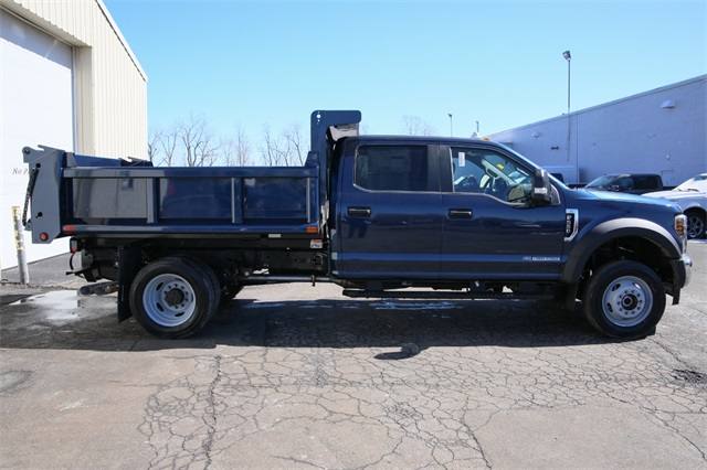 2019 F-550 Crew Cab DRW 4x4,  Air-Flo Dump Body #190514TZ - photo 4