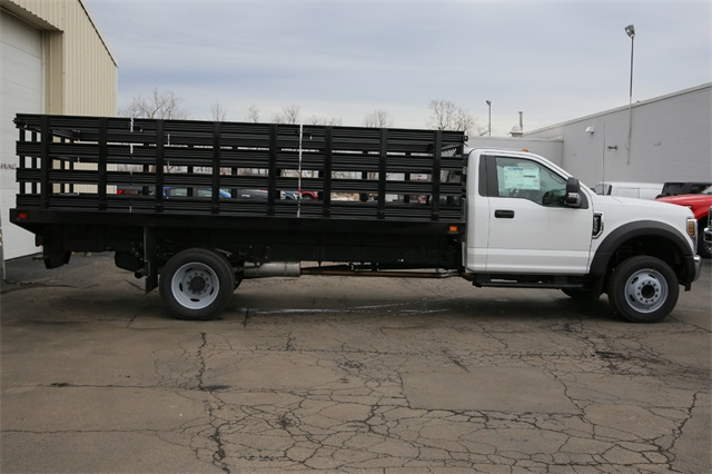 2019 F-550 Regular Cab DRW 4x2,  Stake Bed #190609TZ - photo 1